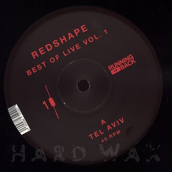 Cover art - Redshape: Best Of Live Vol. 1