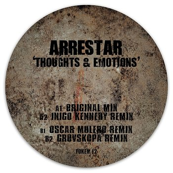 Cover art - Arrestar: Thoughts & Emotions