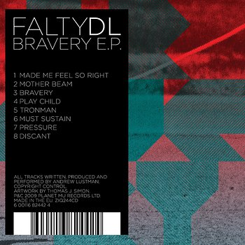 Cover art - Falty DL: Bravery EP