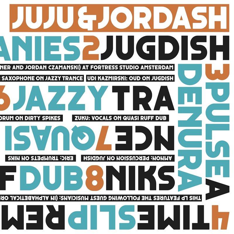 Cover art - Juju & Jordash: Juju & Jordash