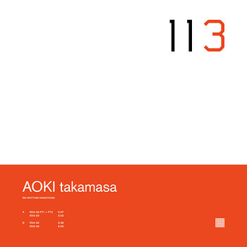 Cover art - Aoki Takamasa: RN Rhythm Variations