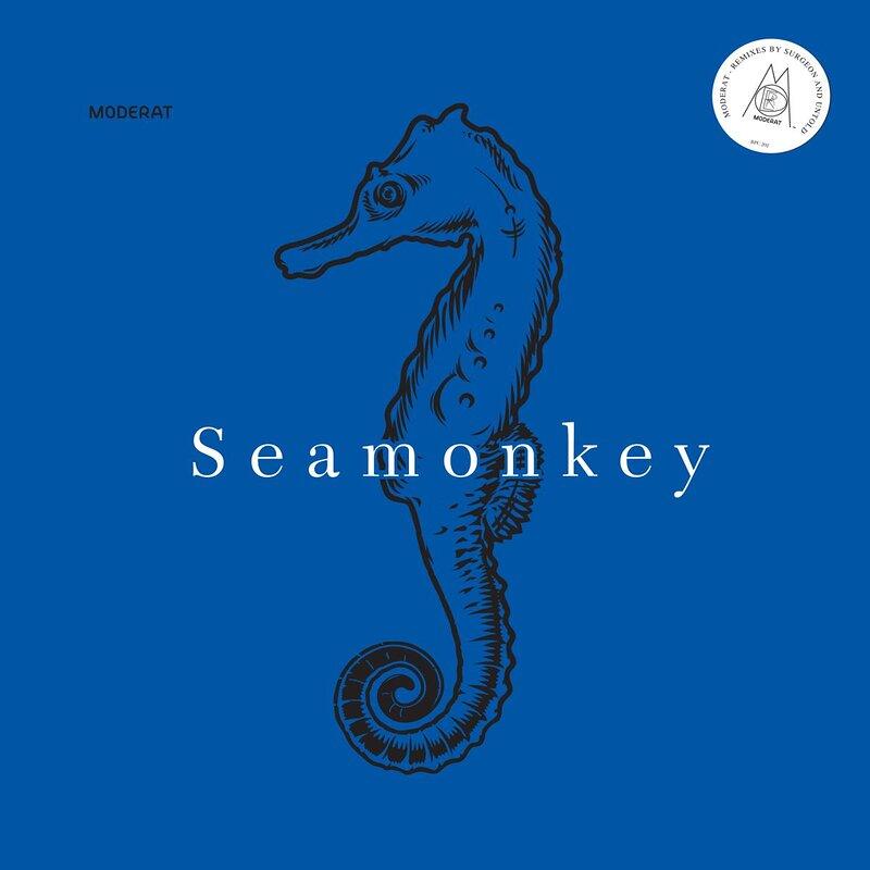 Cover art - Moderat: Seamonkey