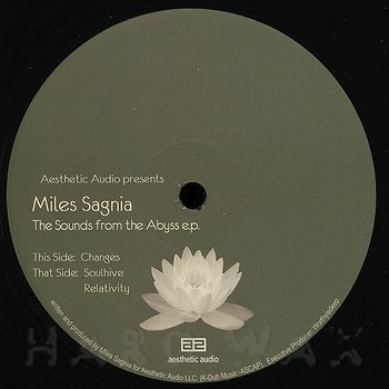 Cover art - Miles Sagnia: The Sounds From The Abyss E.P.