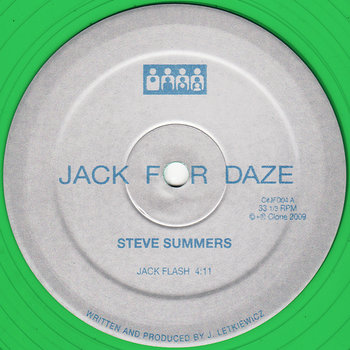 Cover art - Steve Summers: Jack Flash