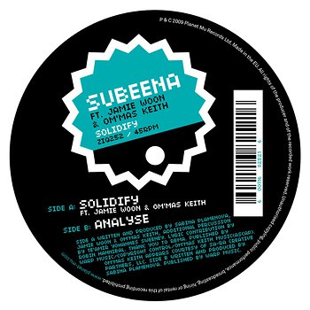 Cover art - Subeena: Solidify