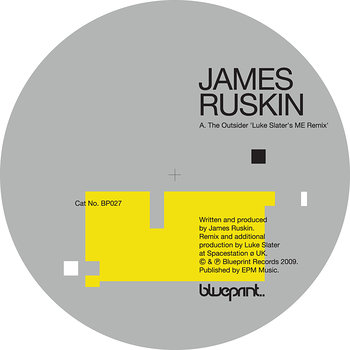 Cover art - James Ruskin: The Outsider