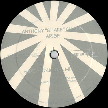 "Cover art - Anthony ""Shake"" Shakir: Arise"