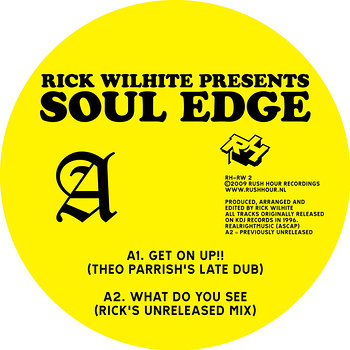 Cover art - Rick Wilhite: presents Soul Edge
