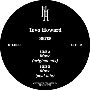 Cover art - Tevo Howard: Move