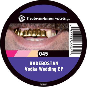 Cover art - Kadebostan: Vodka Wedding EP