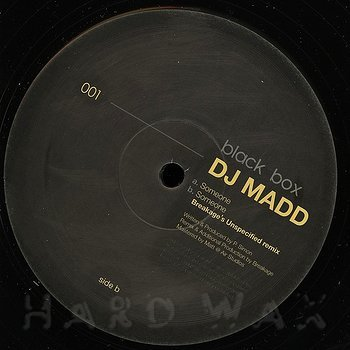 Cover art - DJ Madd: Someone