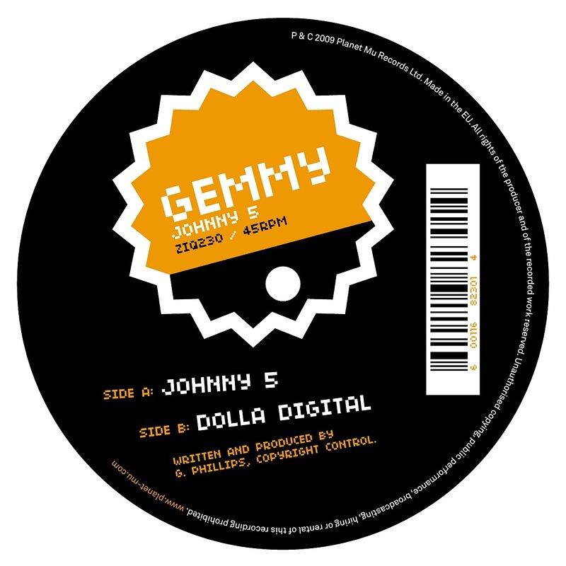 Cover art - Gemmy: Johnny 5