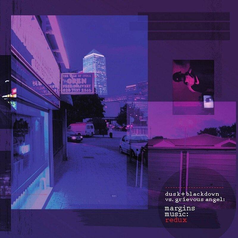 Cover art - Dusk + Blackdown vs. Grievous Angel: Margins Music: Redux
