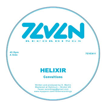 Cover art - Helixir: Convultions
