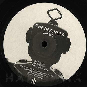 Cover art - Jeff Mills: The Defender