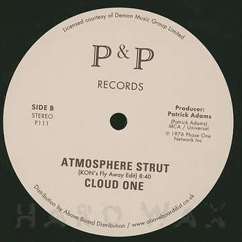 Cover art - Cloud One: Atmosphere Strut