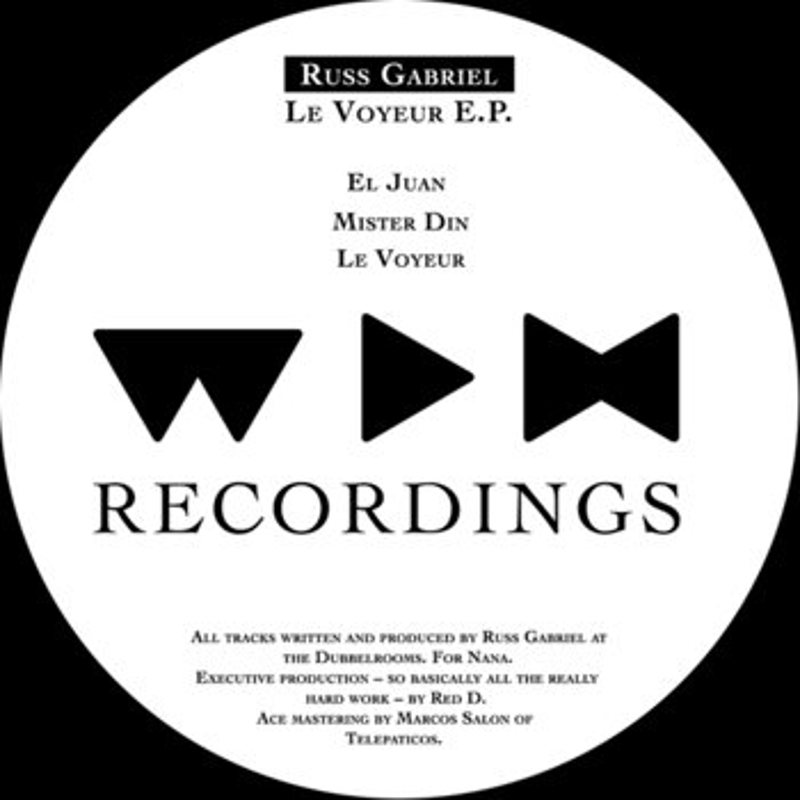 Cover art - Russ Gabriel: Le Voyeur EP