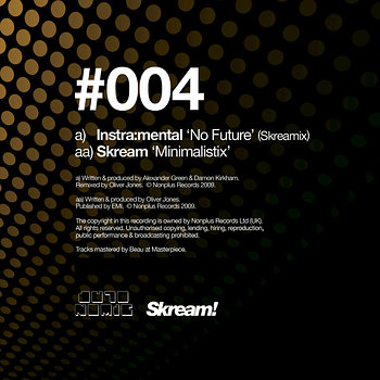 Cover art - Instramental: No Future (Skreamix)