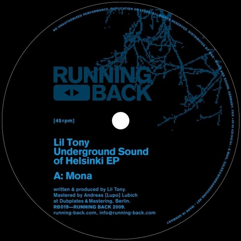 Cover art - Lil' Tony: Underground Sound Of Helsinki EP
