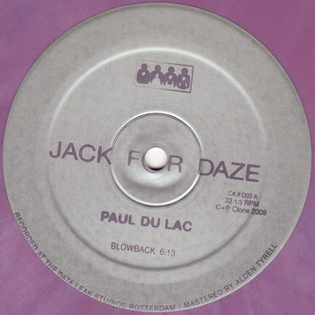 Cover art - Paul Du Lac: Blowback EP