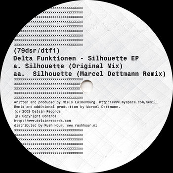 Cover art - Delta Funktionen: Silhouette EP