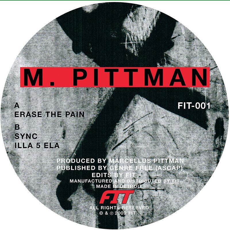 Cover art - M. Pittman: Erase The Pain