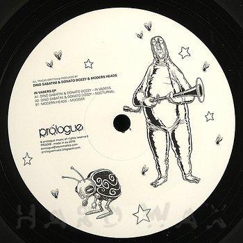 Cover art - Dino Sabatini & Donato Dozzy & Modern Heads: In Vaders EP