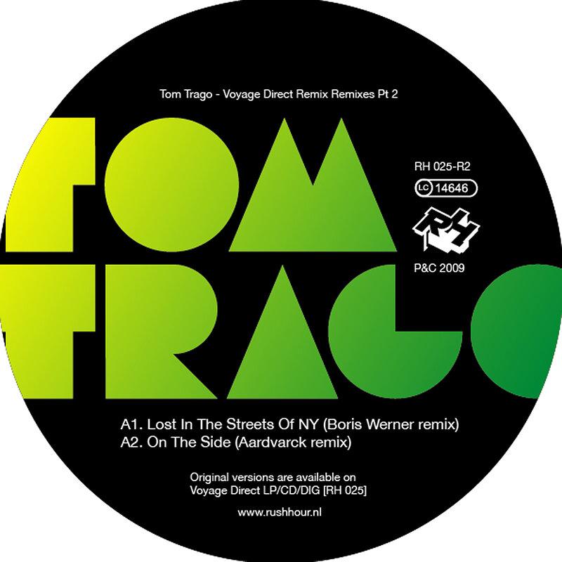 Cover art - Tom Trago: Voyage Direct  Remix Remixes Pt. 2