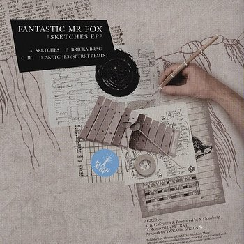 Cover art - Fantastic Mr. Fox: Sketches EP