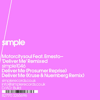 Cover art - Motorcitysoul: Deliver Me Remixed
