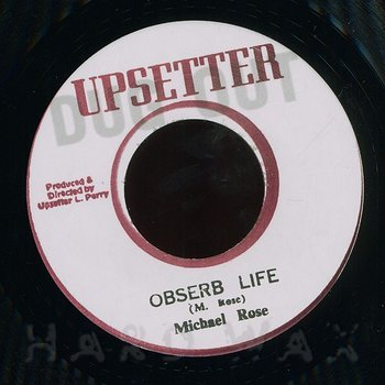Cover art - Michael Rose: Obserb Life