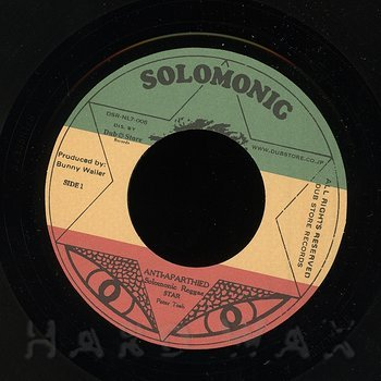 Cover art - Solomonic Reggae Star: Anti-Apartheid
