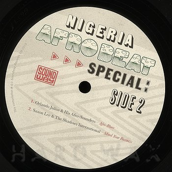 Cover art - Various Artists: Nigeria Afrobeat Special