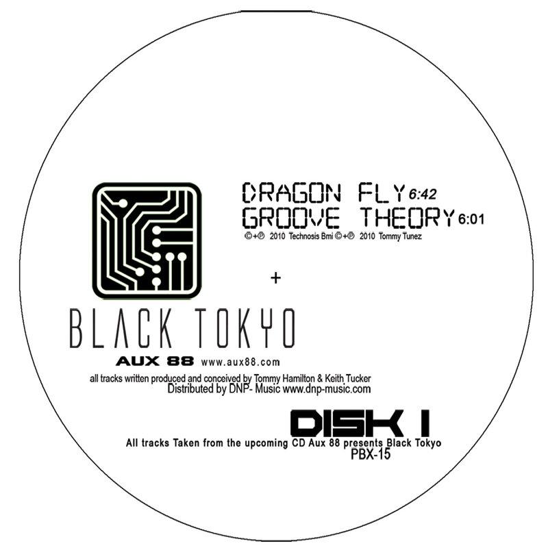 Cover art - Aux 88: Black Tokyo
