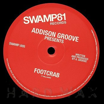 Cover art - Addison Groove: Footcrab