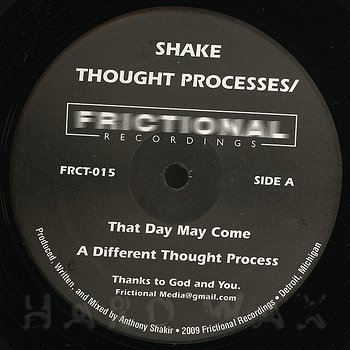 Cover art - Shake: Thought Process
