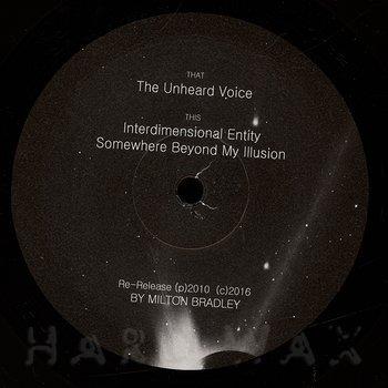 Cover art - Milton Bradley: The Unheard Voice