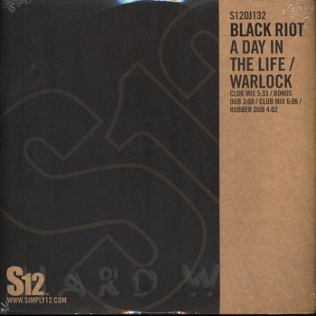 Cover art - Black Riot: A Day In The Life