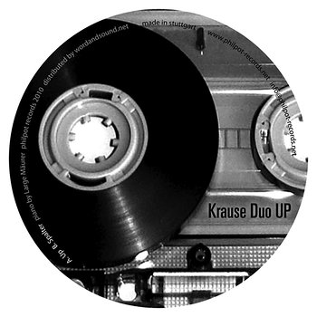 Cover art - Krause Duo: Up