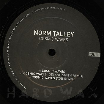 Cover art - Norm Talley: Cosmic Waves