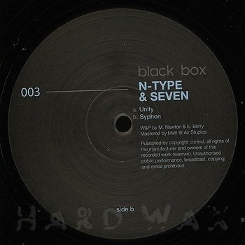 Cover art - N-Type & Seven: Unity