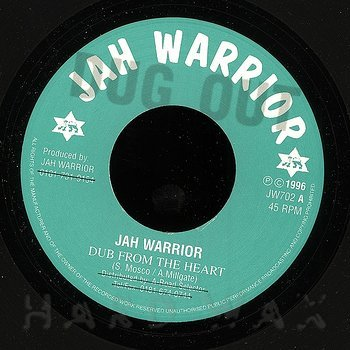 Cover art - Jah Warrior: Dub From The Heart