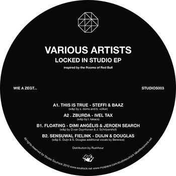 Cover art - Various Artists: Locked In The Studio EP