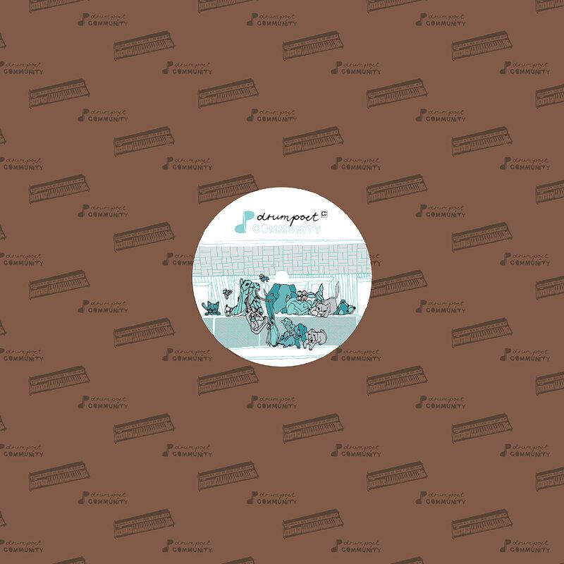 Cover art - Various Artists: Drumpoet Community pres. Drumpoems Verse 2