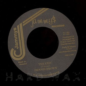 Cover art - Dennis Brown: The Exit