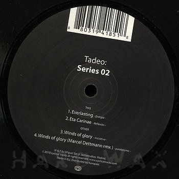 Cover art - Tadeo: Series 02