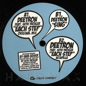 Cover art - Deetron feat. Seth Troxler: Each Step