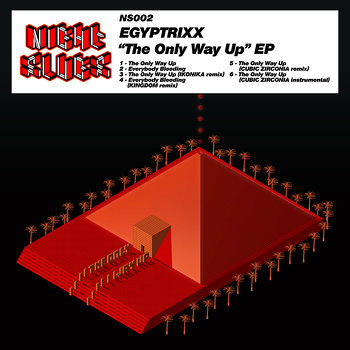 Cover art - Egyptrixx: The Only Way Up EP