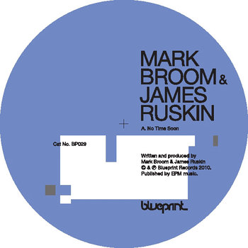 Cover art - Mark Broom & James Ruskin: No Time Soon