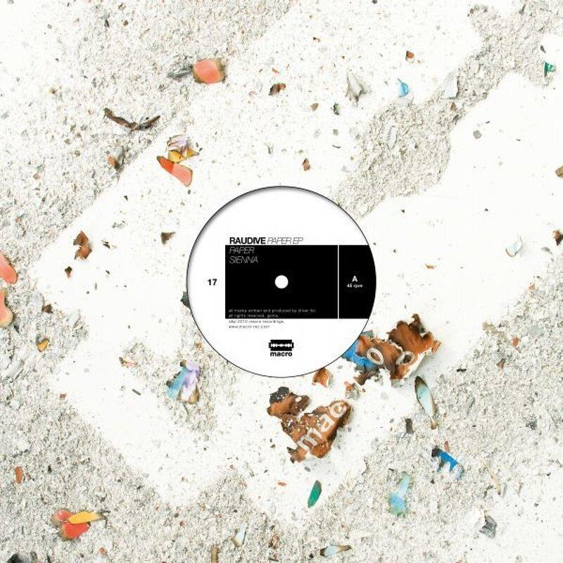 Cover art - Raudive: Paper EP